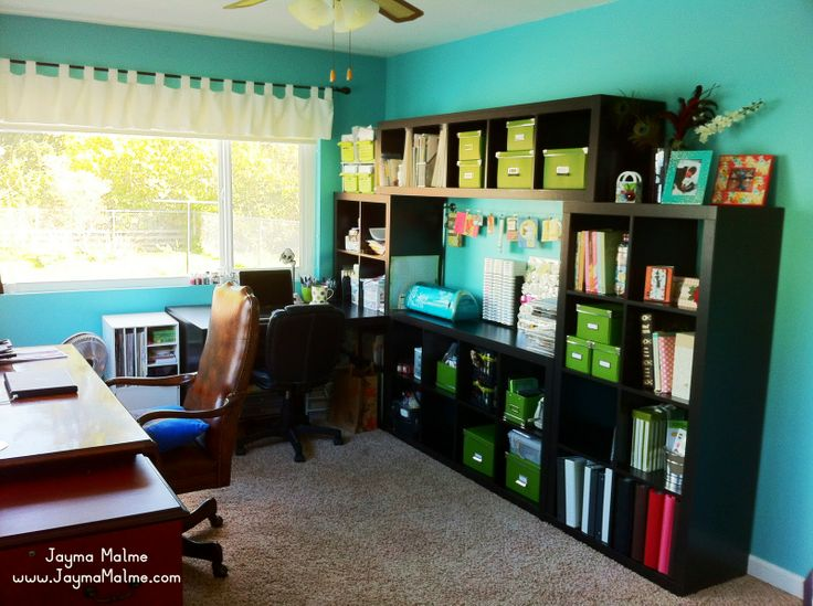 Playing with Paper: Scrapbooks, Cards and DIY | Close to my Heart Independent Consultant: My NEW Ikea Expedit Craft Room!