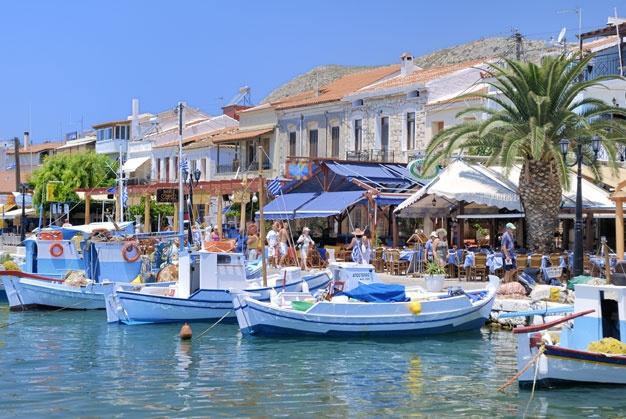 Pythagorion, Samos, Griekenland