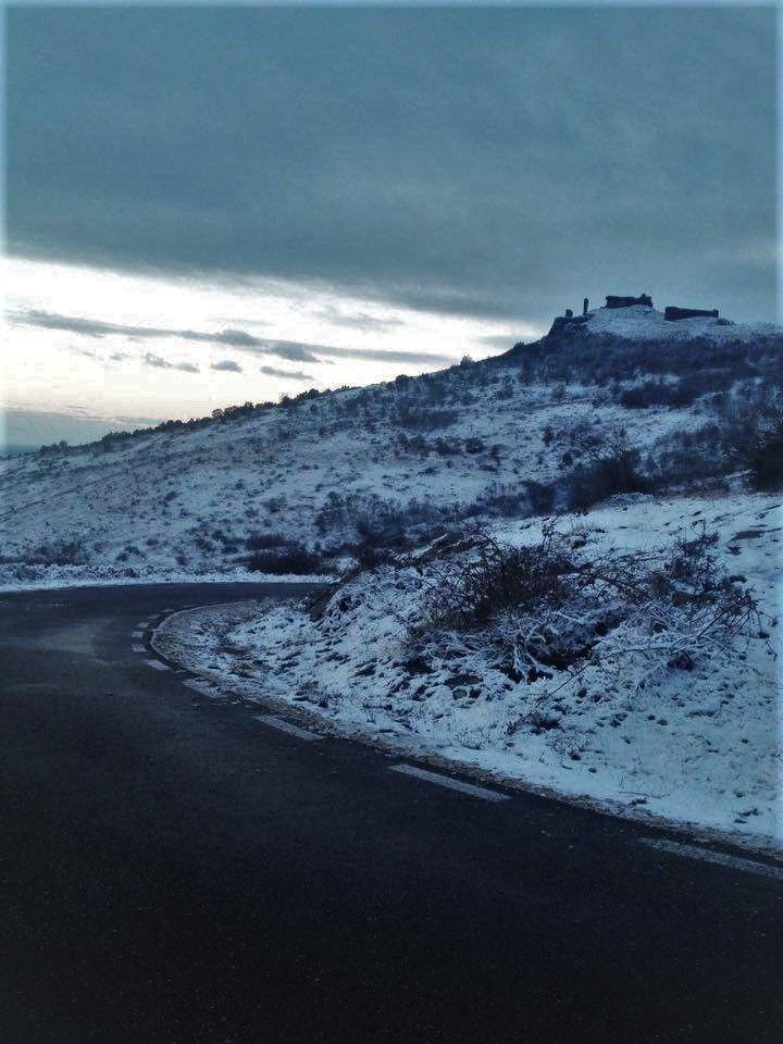 Siria Citadel, Arad County. #home #citadel #romania