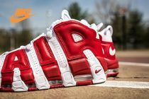 Nike(ナイキ) スニーカー NIKE★人気レアモデル☆モアテン!GYM RED《AIR MORE UPTEMPO》