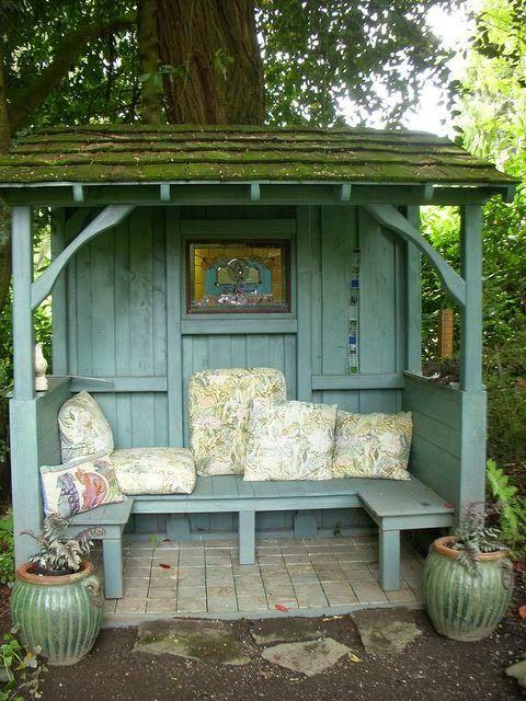 Ein Spielhäuschen oder eins zum Relaxen im Garten ist doch sicher ganz toll, oder? 8 schöne Häuschen für Jung und Alt! - Seite 3 von 8 - DIY Bastelideen