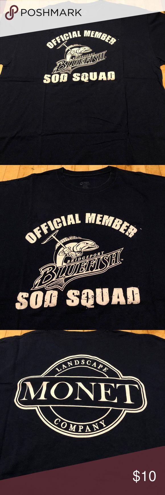 Bridgeport Bluefish Sod Squad T-shirt Bridgeport Bluefish Sod Squad T-shirt Shirts Tees - Short Sleeve