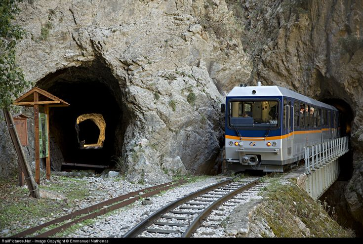 RailPictures.Net Photo: Hellinic Railways STADLER at Mega Spilaio, Greece by Emmanuel Nathenas