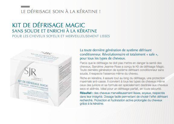 Le Kit de défrisage Magic sans soude à la kératine est issu de la dernière génération de défrisant conditionneur sans soude. Enrichi à la kératine, il est un véritable soin protecteur anti-casse. L'action de la kératine va assurer la protection du #cheveu et de sa cuticule lors du #défrisage #produits #cosmétique #sjrparis #sandrinejeannerose  #soins #keratine #lissage  #cosmetic #pharmacie #parapharmacie #lissagebresilien