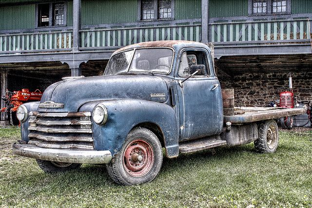 Old Chevy Cars >> Old Farm Truck | Chevy pickups, 1955 chevrolet and Cars