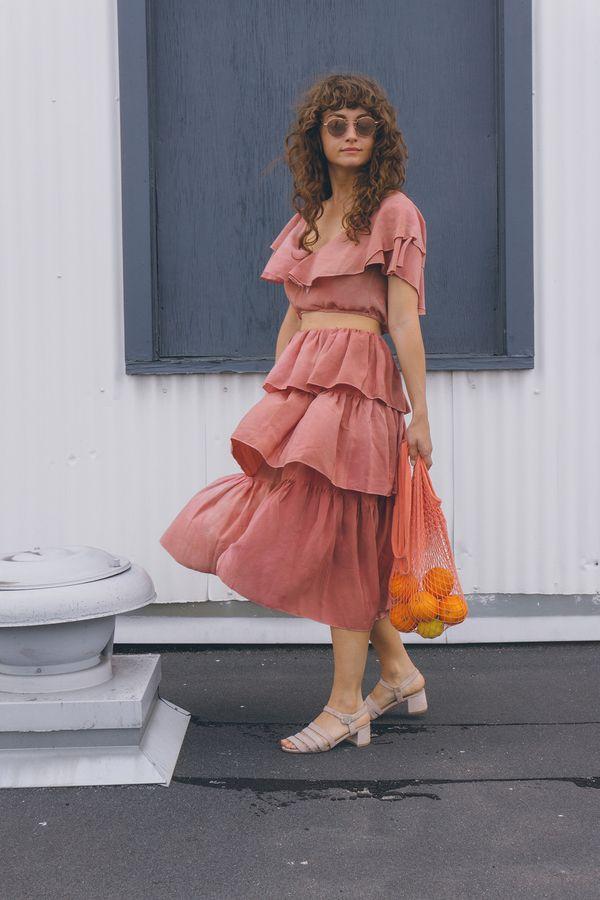 GARMENTORY EXCLUSIVE   Aurora Vestita Frida Skirt