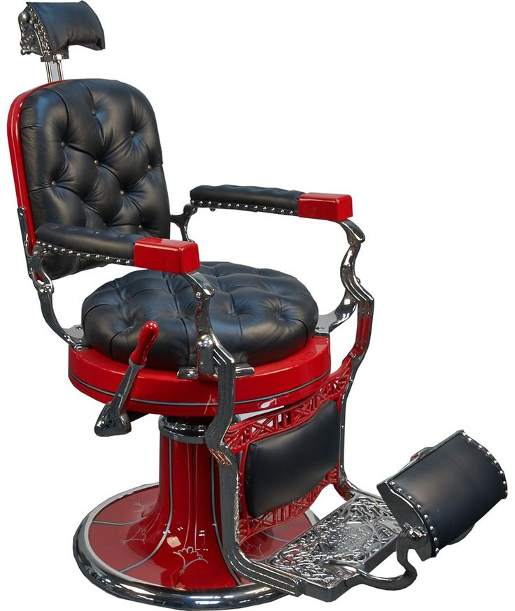 beautiful old red and black barber's chair - 160 Best Barber Shop Chair Images On Pinterest Barber Chair