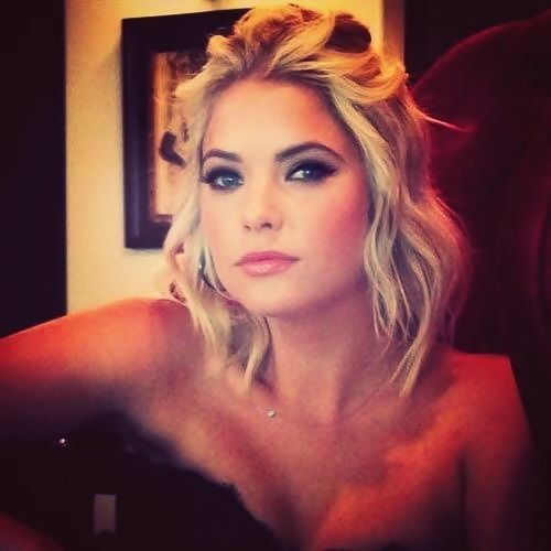 { Ashley Benson } Loving this hair cut and style. Make up is perfection. @Courtney Baker @holdingcourtblog Boyne @Somer Parker Parker Thornton