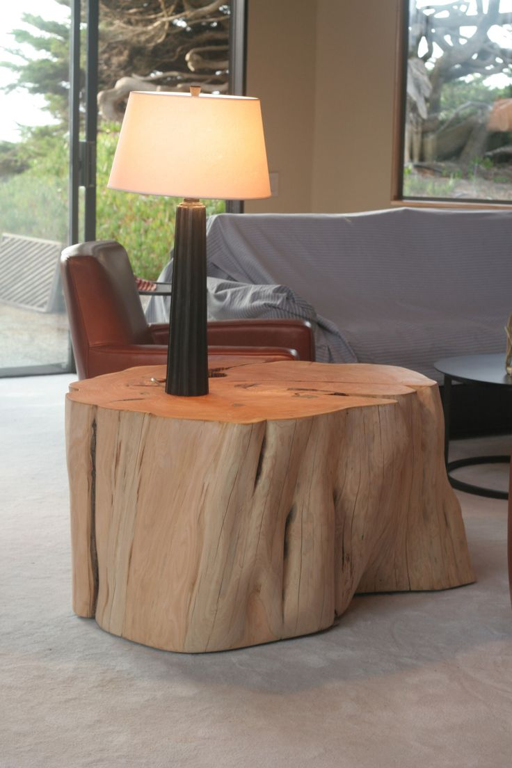 """This is a coffee table that's 36"""" x 45"""" made from reclaimed Monterey Cypress."""