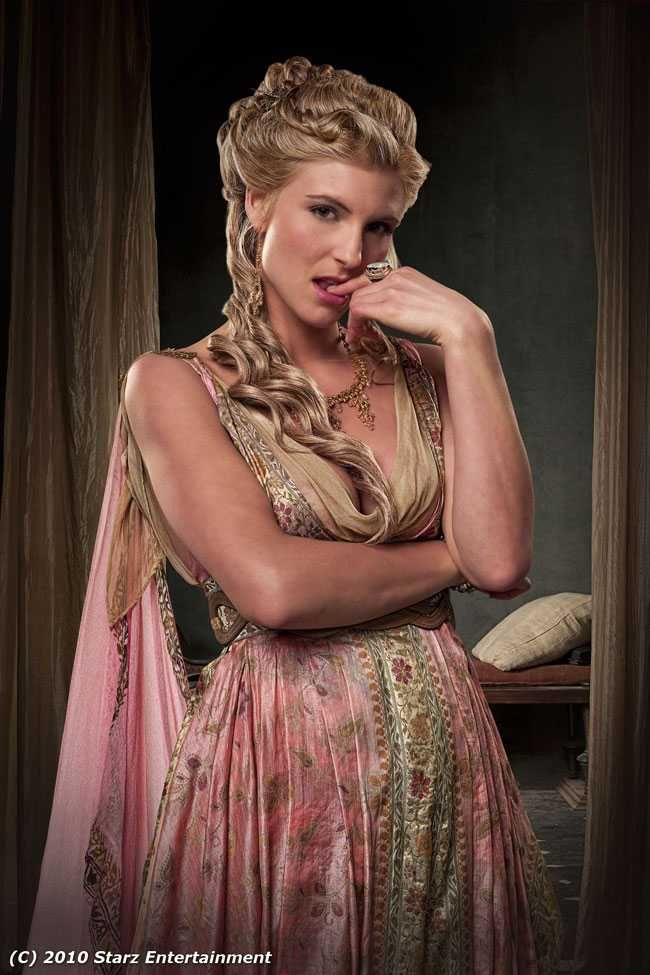 Illythia from 'Spartacus' - my favourite small-screen bitch.