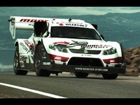 Monster's 2010 Pikes Peak.....one of the most exciting races you will ever see....I've been to the top a couple of times.  AWESOME