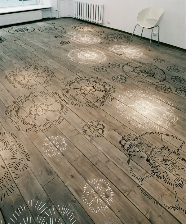 FLOOR Embroidered Space - http://www.differentdesign.it/2014/05/12/floor-embroidered-space/