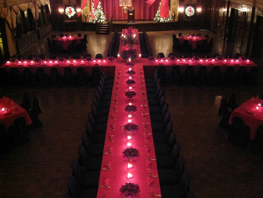 Christmas Dinner / Dynamic Events | David Carus....different set up for reception....