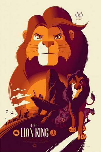 El Rey Leon, por Tom Whalen