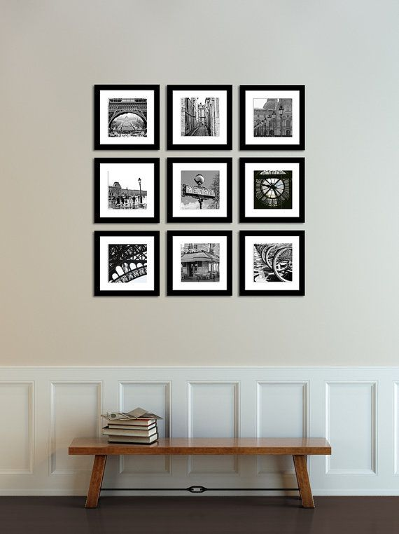 Paris photography paris france in black and white print set paris decor black and white photography gallery paris wall art paris print