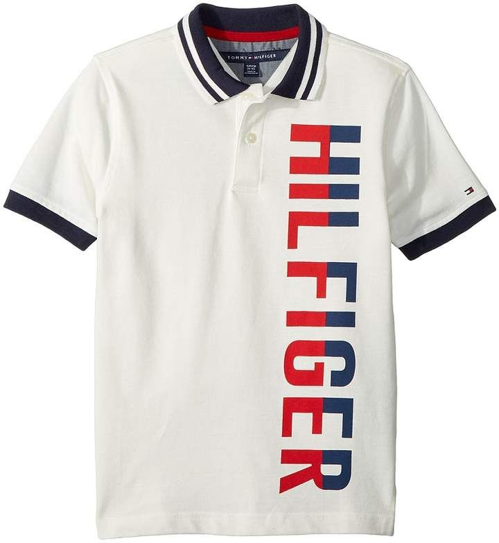 Tommy Hilfiger Boys Graphic F//B Polo S//S Shirt