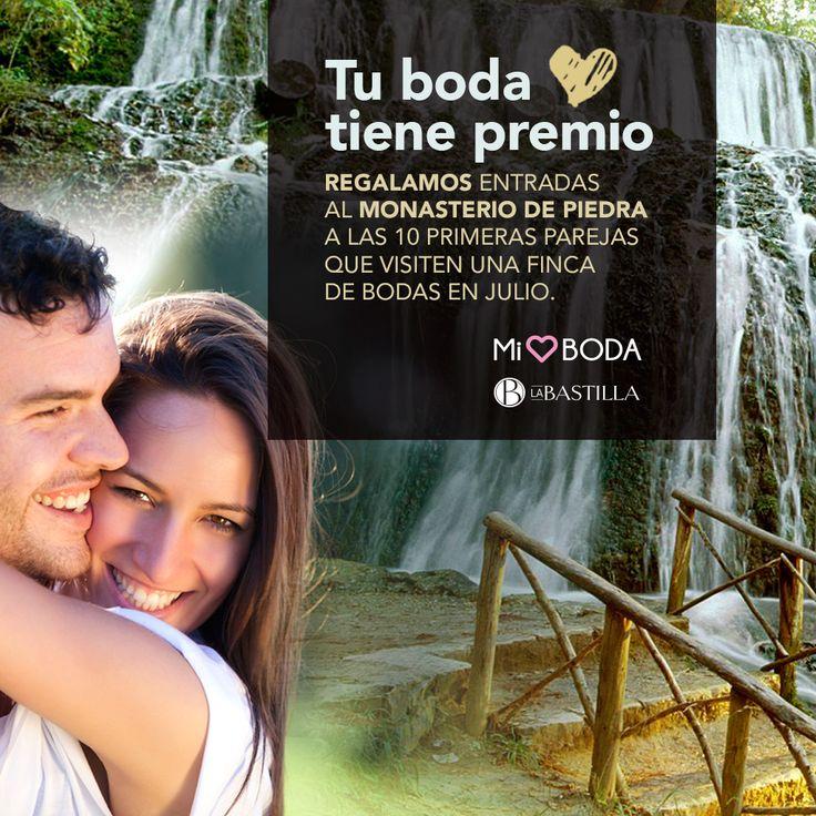 En La Bastilla premiamos las primeras visitas que se realicen en julio a nuestros espacios para bodas. ¡Reserva ya tu cita con nosotros! ❤️❤️❤️