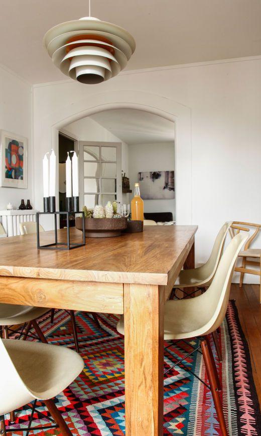salle à manger maison nordik