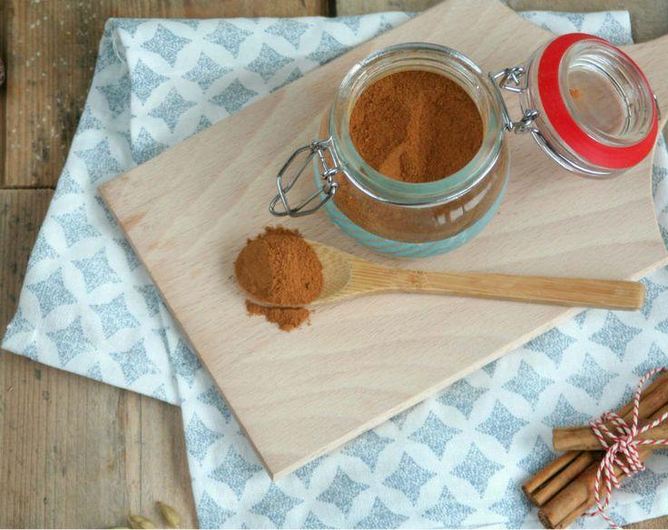 Zelf speculaaskruiden maken. Geen stress meer of je voldoende potjes in huis hebt gehaald. Geef je eigen touch aan dit heerlijke koekkruiden mengsel.