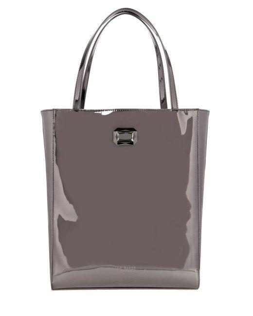 MOTIA - Shopper bag - Gunmetal | Womens | Ted Baker UK