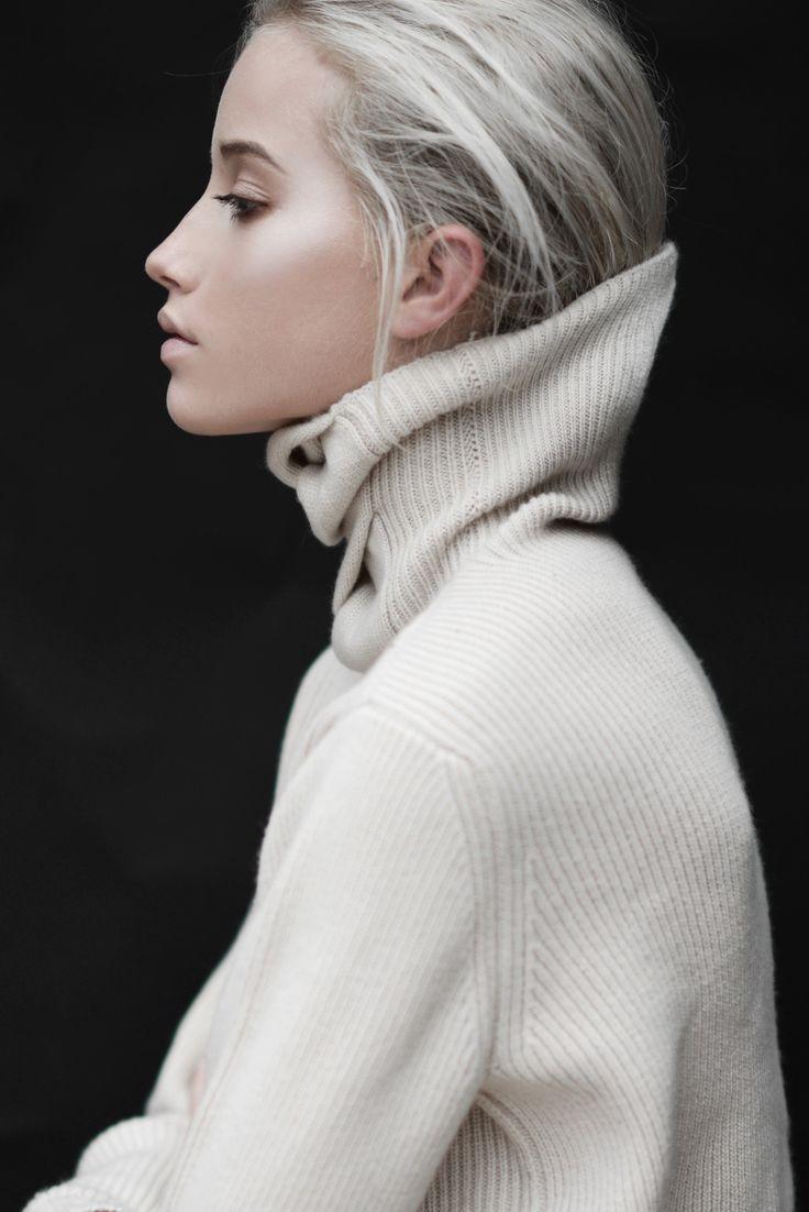 high collar #style #fashion