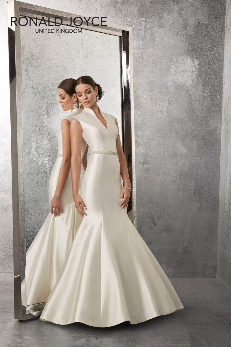 The 89 best Ronald Joyce Bridal images on Pinterest | Short wedding ...