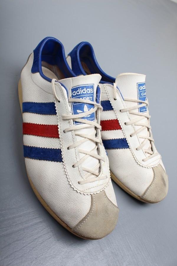 Vintage Adidas Cadet Trainers (5.5)