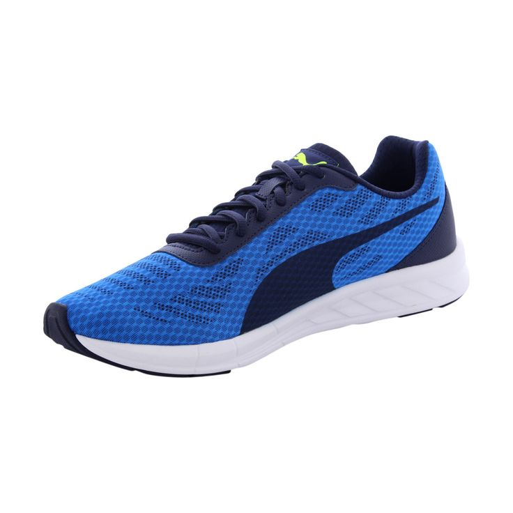 Puma - Men's Meteor Cushioned Running Shoes - Blue/Navy