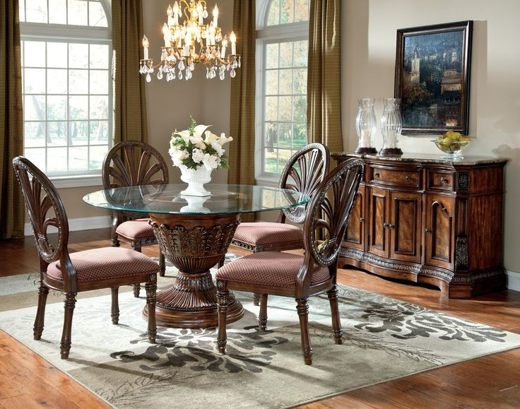 Ledelle 5pc Round Dining Table Set