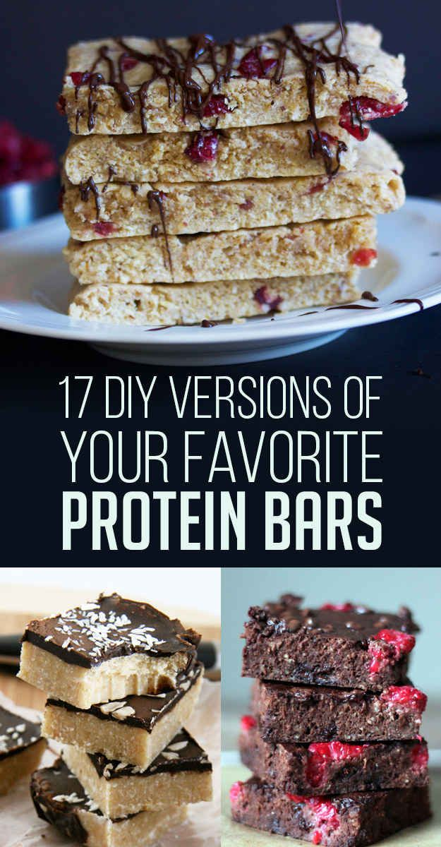 17 Protein Bars You'll Never Have To Buy Again
