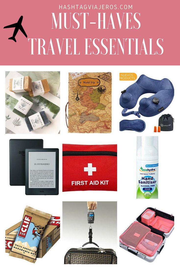 Must-have travel essentials | Hashtag#viajeros