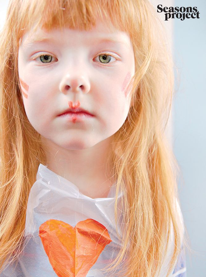 Seasons of life №3 / May-June 2011 issue #seasonsproject #seasons #kids #children #girl #orange