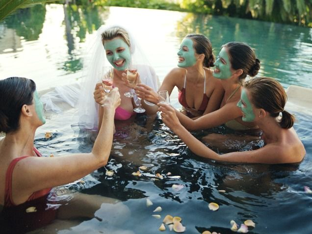 10 alternative hen night ideas-actually, some of these ideas are not bad, quite like them. Not too American/cheezy.