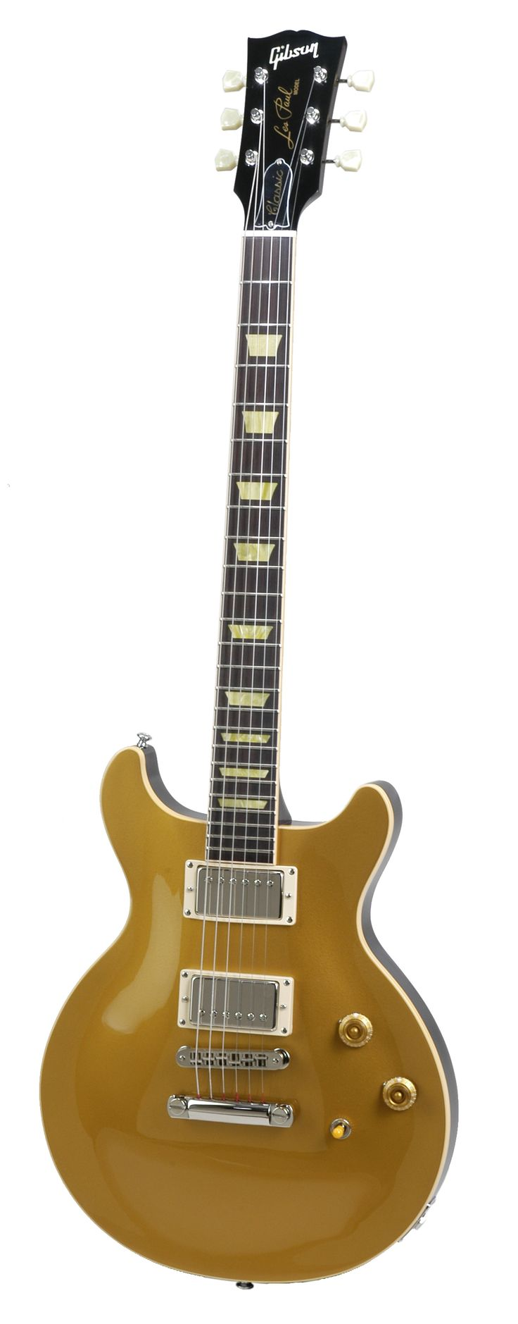 Gibson Les Paul double cut gold bullion gold top