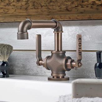 Watermark Elan Vital Single Hole Lavatory Faucet - 38-1-EV4 :: Bath Faucet from Home & Stone