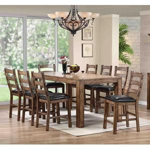 Boulder Creek 7 Piece Counter Height Set