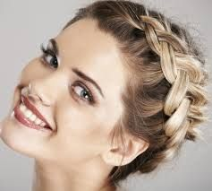 Resultado de imagen para Peinados sencillos y bonitos para fiesta de 15 sencilla