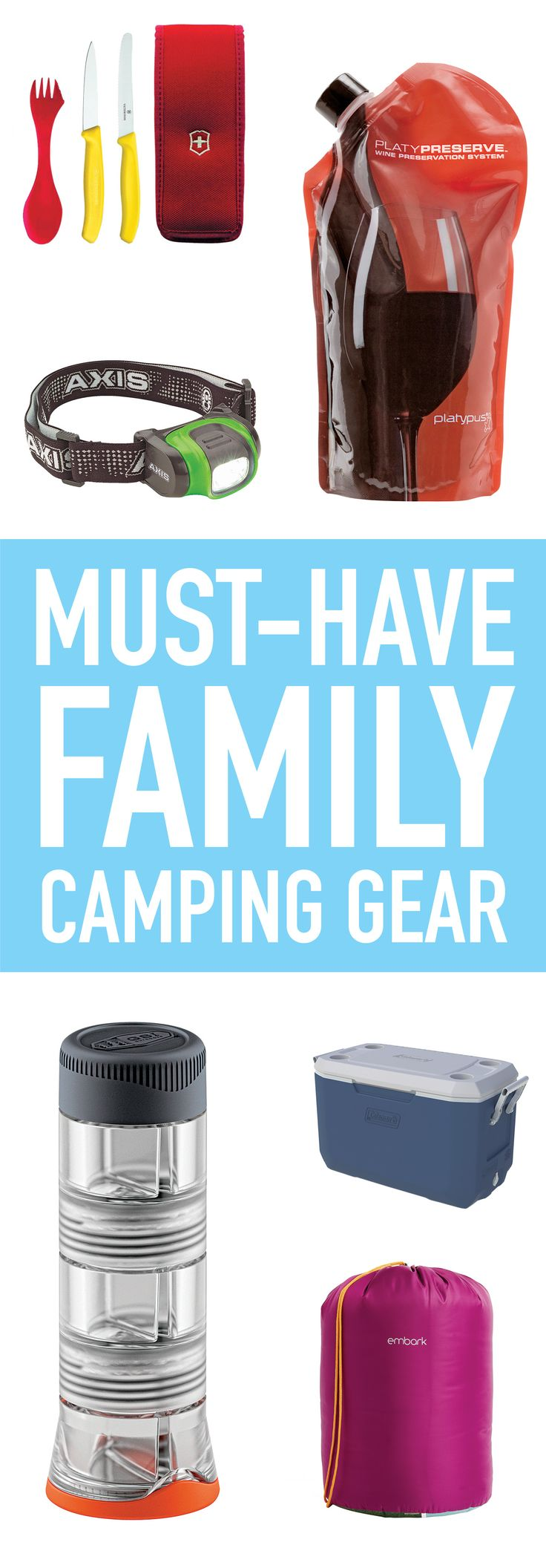 Today's Parent rounds up the best camping gear of the season whether your style is rugged or relaxed.