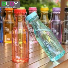Inquebrável Garrafa de Água Desporto Garrafa BPA Livre Garrafa de Viagens de Bicicleta Escalada 550 ML Botella de Agua(China (Mainland))