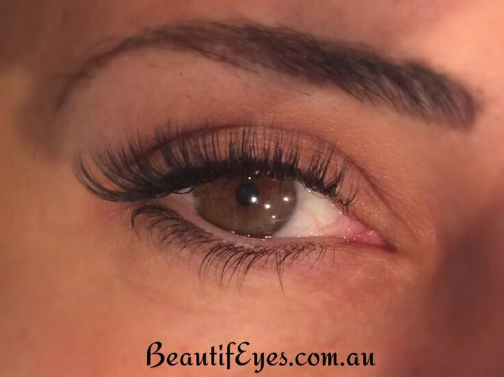 Volume Lash extensions by Amy Rodgers  www.BeautifEyes.com.au