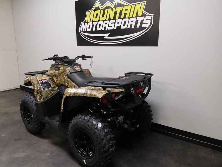 New 2017 Can-Am Outlander DPS 570 Mossy Oak Break-up Cou ATVs For Sale in Tennessee. 2017 Can-Am Outlander DPS 570 Mossy Oak Break-up Country Camo, For special internet pricing, contact Hayden at 423.839.3370 or 2017 Can-Am® Outlander DPS 570 Mossy Oak Break-up Country Camo UNMATCHED ALL-TERRAIN PERFORMANCE Raise your expectations, not your price range. Get the all-terrain performance you'd expect from Can-Am at the most accessible price ever. With the added comfort of Tri-Mode Dynamic…