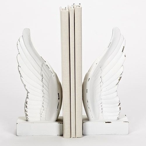 Angel Wings Book Ends Vintage Style