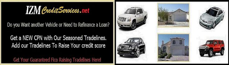 Seasoned Tradelines, Primary seasoned tradelines.Buying Seasoned Tradelines is the fastest way to raise your credit scores.Repair your credit Fast with our Seasoned Tradelines.We've helped thousands raise their credit scores by piggybacking of our seasoned tradelines (credit card accounts) and by addng our primary tradelines (auto loans) on their credit files.You Don't have to wait, raise your credit scores the fastest way. Visit IzmCreditServices.net and Order Your Seasoned Tradelines…