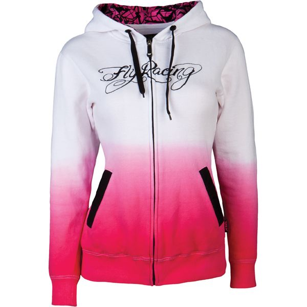 Fly Racing Women's Ombre Zip-Up Hoodie