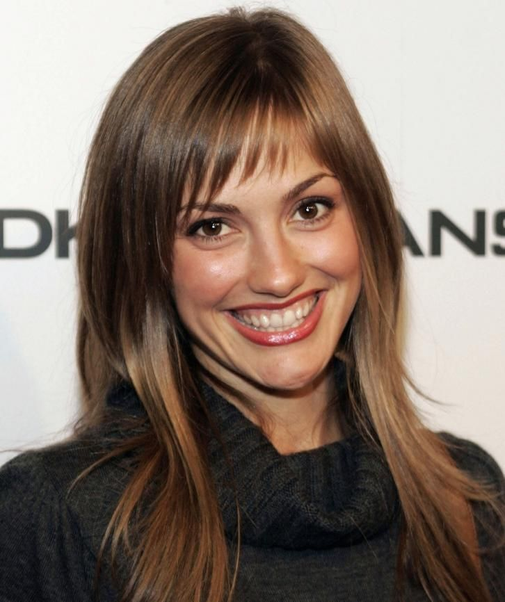 Best 25+ Layers And Bangs Ideas On Pinterest