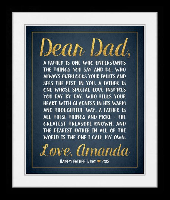 Personalized Letter Poem Or Words Specially Made To Give Gift For Parents Grandparents Family Or Friends Elegant Designed Art Pri