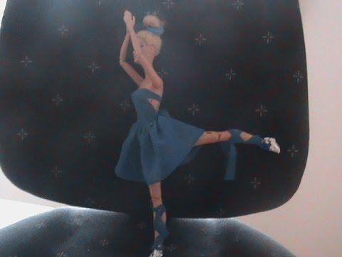 comment faire une tenue de danse pour barbie  #barbie #comment #danse