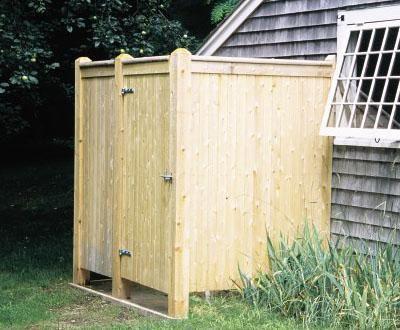 Chatham Standard Outdoor Shower Enclosure