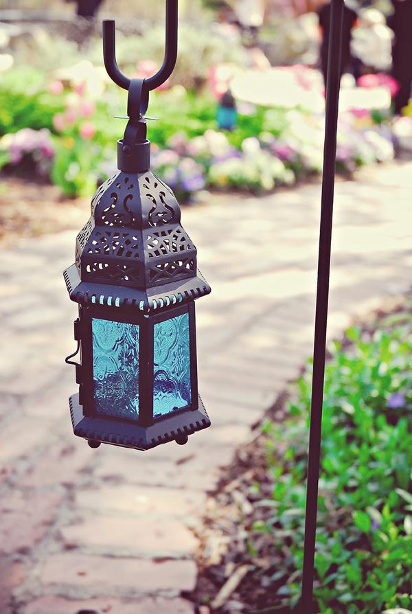 Lantern on a shepards hook