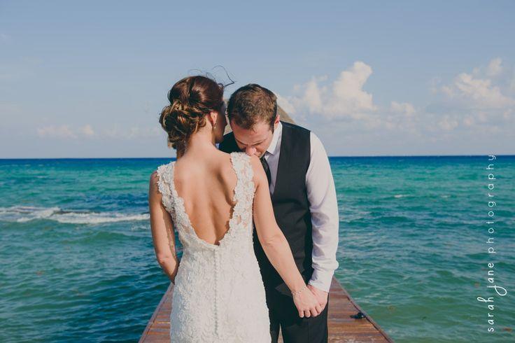 Wedding Photography - Groom kissing bride's shoulder